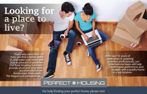 Flyer ontwerp perfecthousing