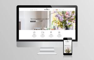 Website ontwerp - Bloomon