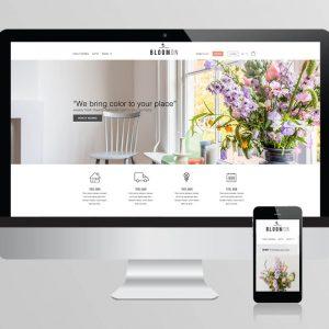Bloomon Webshop Ontwerp