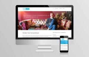 Website ontwerp - Hersenz