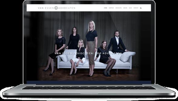 van-essen-advocaten-webdesign
