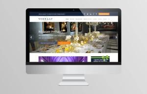 Website ontwerp - Verhaaf Catering