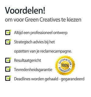 Voordelen Green Creatives
