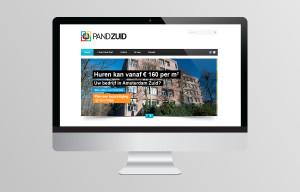 Website ontwerp Pand Zuid