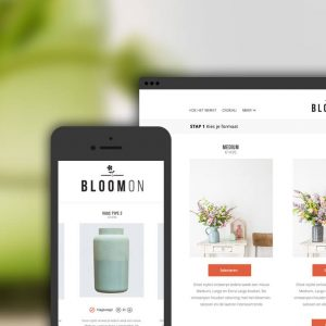 Bloomon webshop by Green Creatives