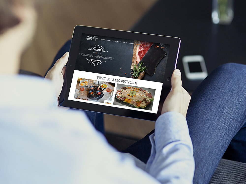 ideaal_catering_ipad_green_creatives