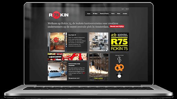 website ontwerp rokin75