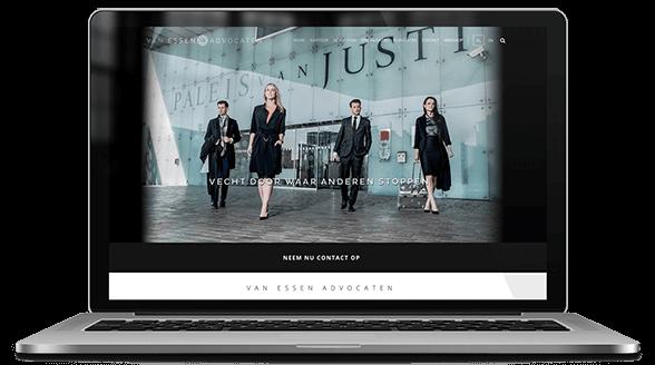 website ontwerp van essen