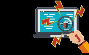 De 6e stap van het ontdekken wat een website kost is bug fixing