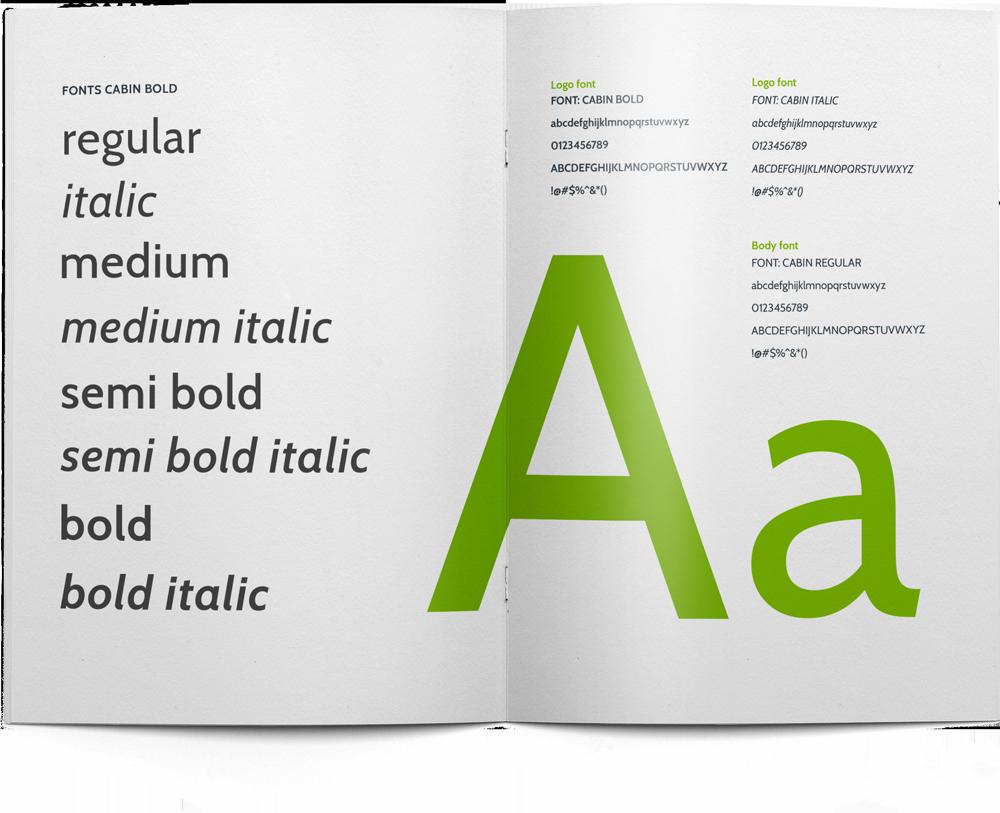 Brandbook Green Creatives