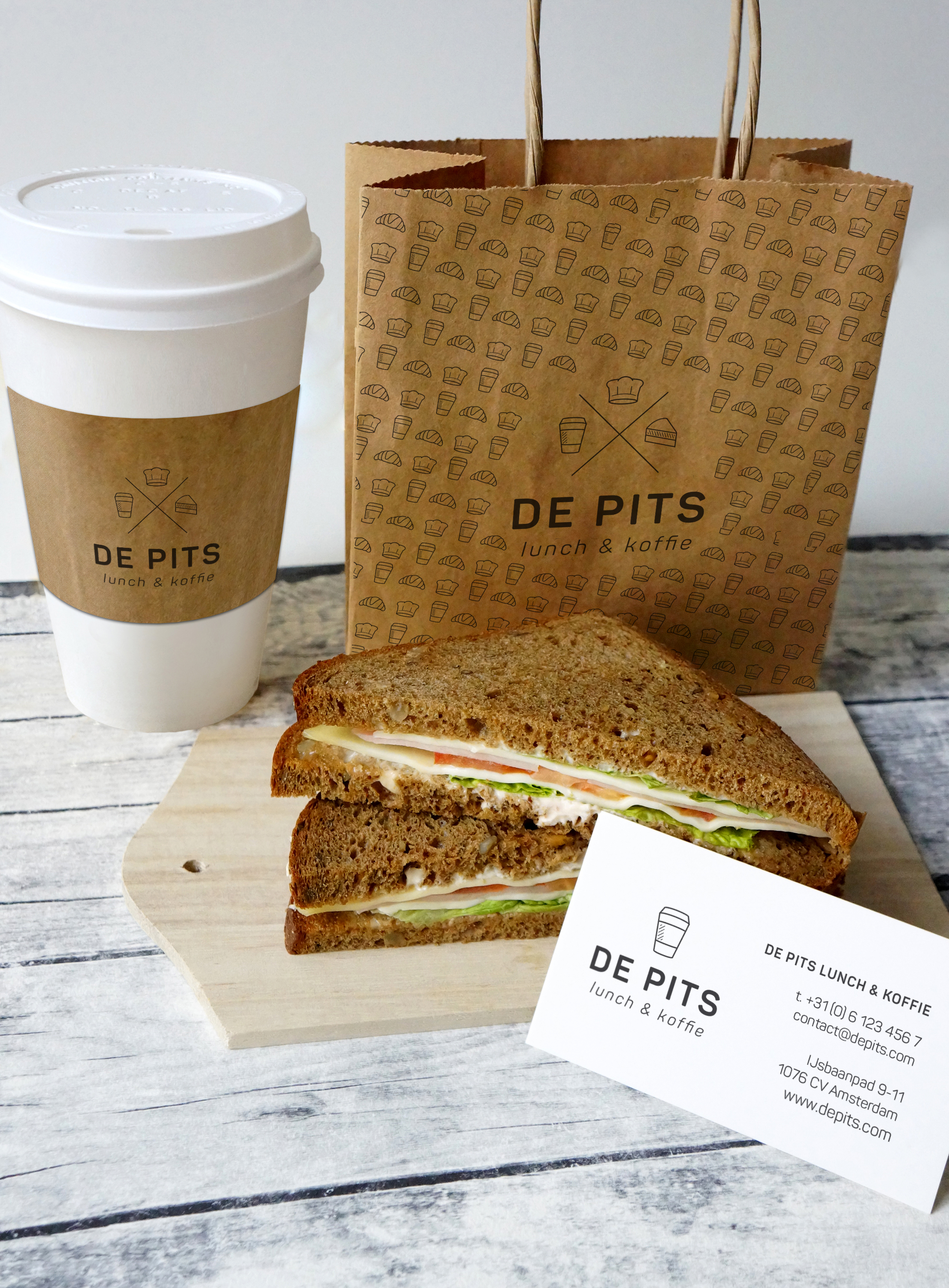De Pits Branding Green Creatives