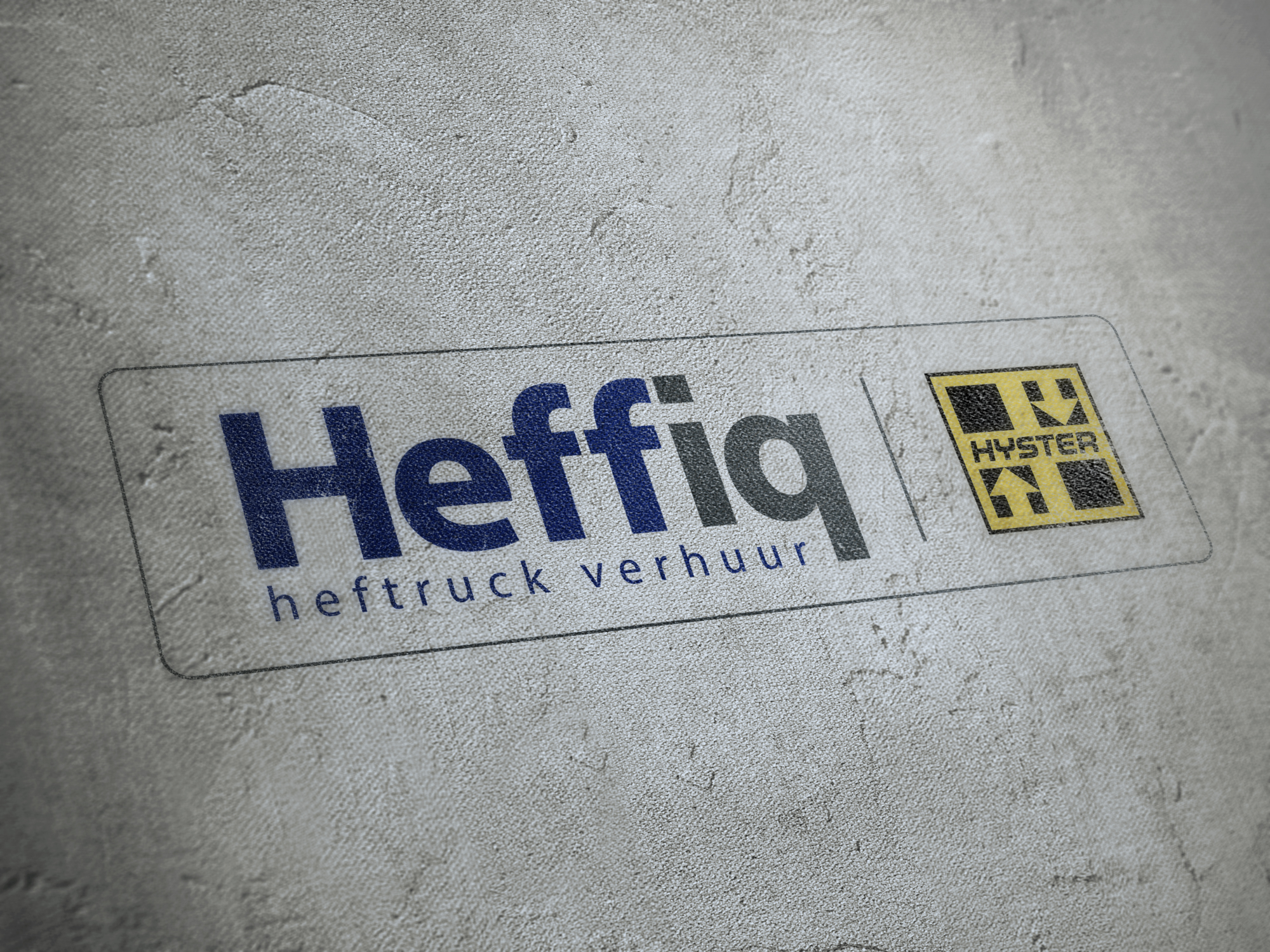 Heffiq Logo Design Green Creatives