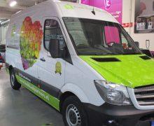 Autobelettering Green Creatives