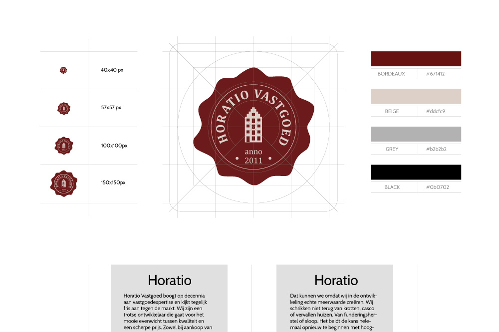 Horatio Logo Design Greencreatives