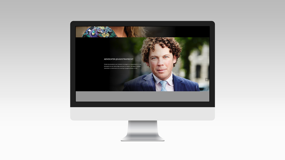 Strafrecht-jeugd Website Design Greencreatives