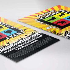 green-creatives-kinder-beest-feest-flyer-ontwerp